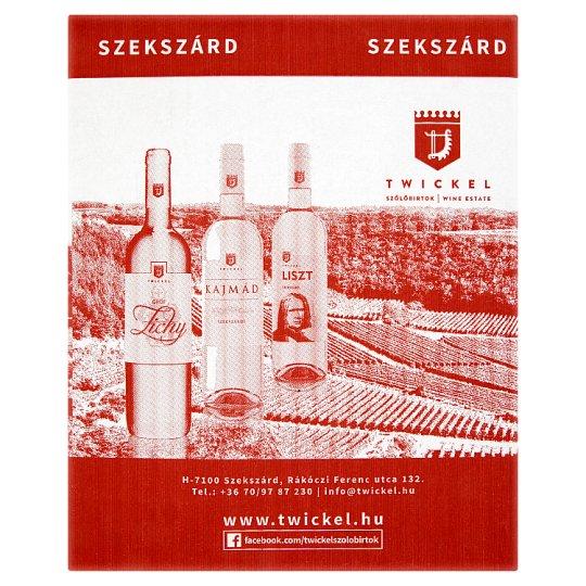 Twickel Szekszárdi Cabernet Cuvée Dry Red Wine 13% 5 l