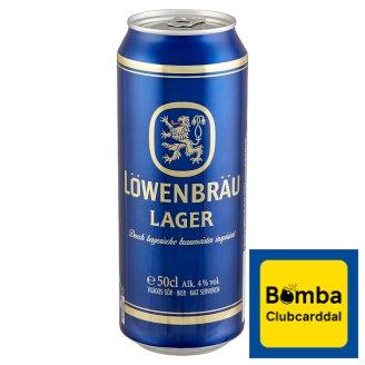 Löwenbräu Lager Beer 4% 0,5 l
