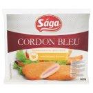 Sága Cordon Bleu gyorsfagyasztott, panírozott pulyka- és csirkehús sajttal töltve 500 g
