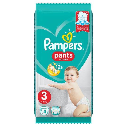 Pampers Pants, Méret: 3, 4 Bugyipelenka, Könnyen Feladható