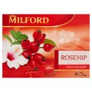 Milford Fruit Tea with Rosehip and Hibiscus 40 Tea Bags 120 g