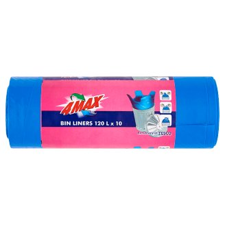 4MAX szemeteszsák 120 l 10 db