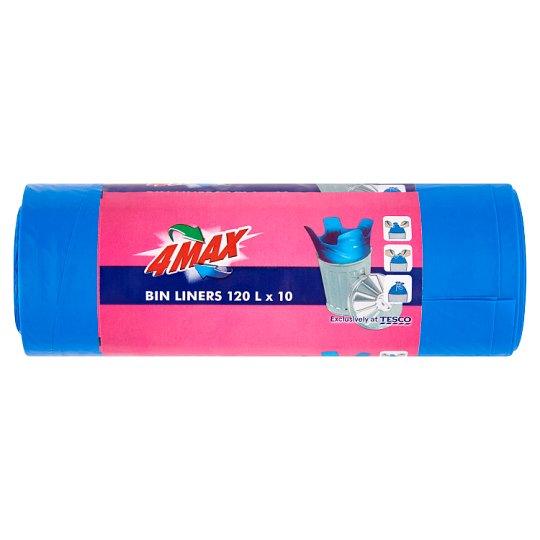 4MAX Bin Liners 120 l 10 pcs