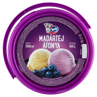 Ledo Floating Islands and Blueberry Flavoured Ice Cream 2000 ml