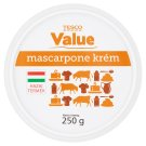 Tesco Value Mascarpone Cream 250 g