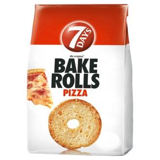 7DAYS Bake Rolls Bread Crisps with Pizza Seasoning 80 g
