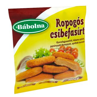 Bábolna Quick-Frozen, Ready-Fried, Breaded Chicken Meat Loaf 1000 g