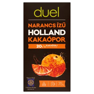 Duel Orange Flavoured Dutch Cocoa Powder 75 g