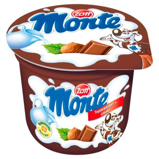 Zott Monte Milk Dessert with Chocolate and Hazelnuts 100 g