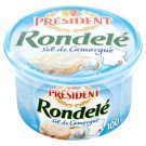 Président Rondelé Cheese with Sea Salt 100 g