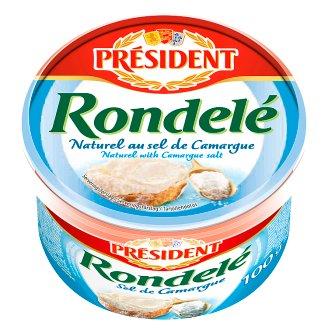 Président Rondelé Cheese with Sea Salt 100 g