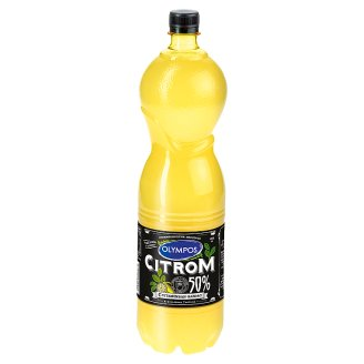 Olympos Lemon Flavouring with 50% Lemon Juice 1,5 l