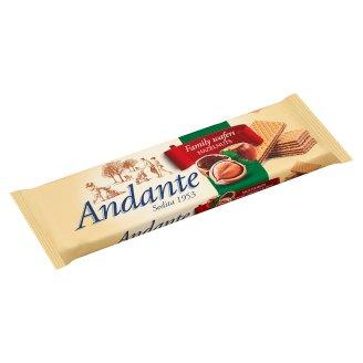 Andante Crispy Wafers with Hazelnut Cream Filling 130 g