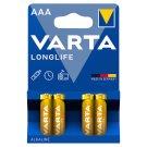 Varta Longlife Alkaline Micro Battery 4BL