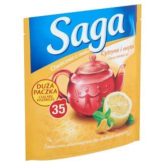 Saga citrus-menta ízű gyümölcstea 35 filter 63 g