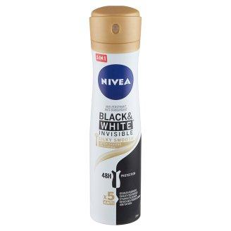 NIVEA Black & White Invisible Silky Smooth izzadásgátló 150 ml