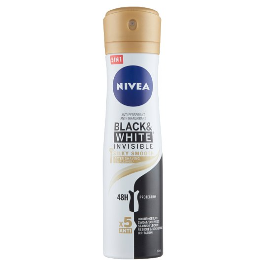 NIVEA Black & White Invisible Silky Smooth Anti-Perspirant 150 ml
