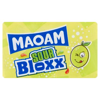 Maoam Bloxx Sour Fruit Flavoured Chewy Sweets 22 g