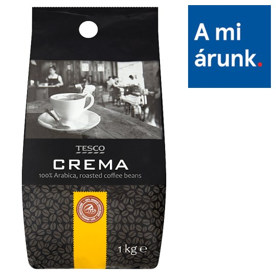 Tesco Crema Roasted Coffee Beans 1 kg
