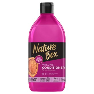 Nature Box Conditioner with Almond Oil for an Airy Hair Felling without any Build Up 385 ml