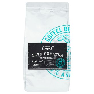 Tesco Finest Java Sumatra Coffee Beans 227 g