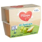 Milupa Frutapura Apple-Pear Fruit Puree 4+ Months 4 x 100 g