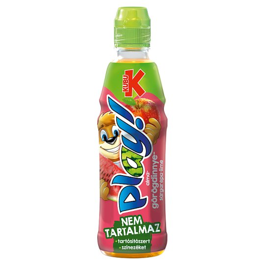 Kubu Play! Görögdinnye Mix alma-görögdinnye-sárgarépa-lime ital 400 ml