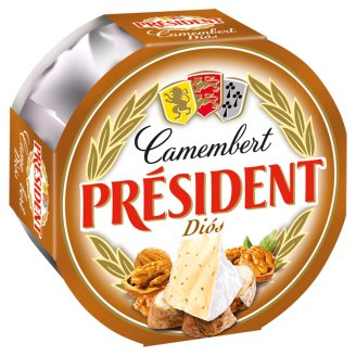 Président Camembert Cheese with Walnut 120 g