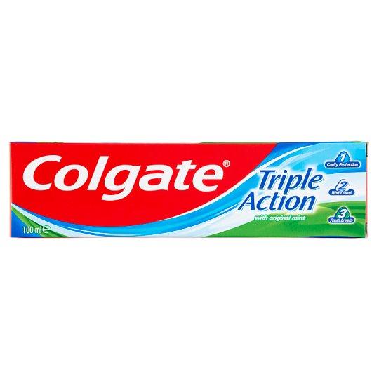 Colgate Triple Action Fluoride Toothpaste 100 ml