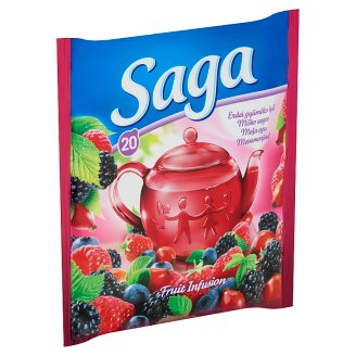 Saga Forest Fruit Flavoured Fruit Tea 20 Tea Bags