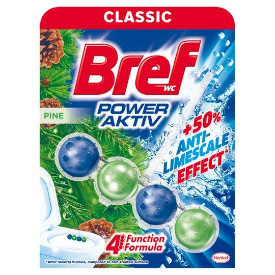 Bref Power Aktiv Pine Forest WC-frissítő 50 g
