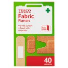 Tesco Fabric Plasters 40 pcs