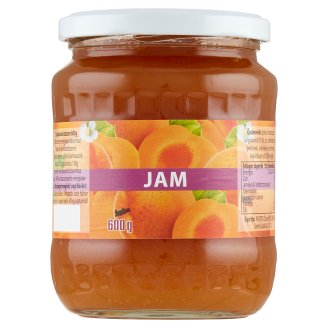 Jam Apricot Jam with Reduced Sugar Content 600 g