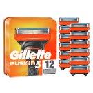 Gillette Fusion5 Razor Blades For Men, 12 Refills