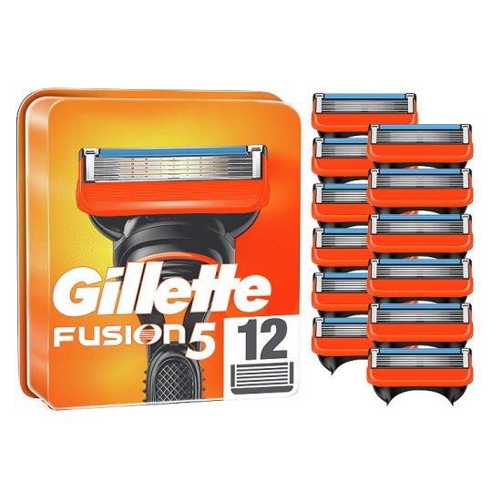 Gillette Fusion5 Pótfej Férfi Borotvához, 12 db