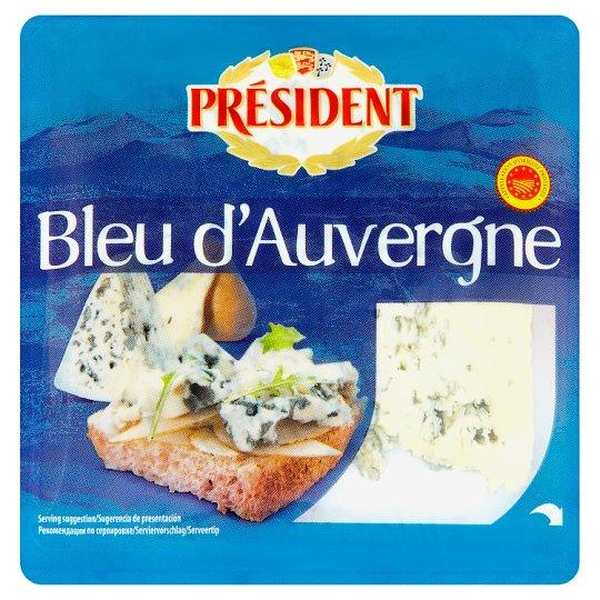 Président Bleu d'Auvergne félkemény sajt 100 g