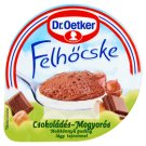 Dr. Oetker Felhőcske Chocolate-Hazelnut Flavoured Pudding with Whipped Cream 125 g