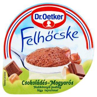 Dr. Oetker Felhőcske csokoládés-törökmogyorós habdesszert tejszínnel 125 g