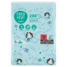 Fred & Flo illatmentes, nedves baba törlőkendők érzékeny bőrre 4 x 72 db