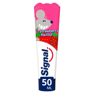 Signal Kids Strawberry Flavour Toothpaste 2-6 Years 50 ml