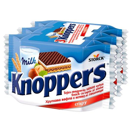 Knoppers Wafer with Milky-Hazelnut Filling 75 g