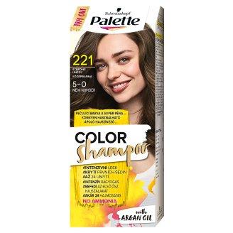 Schwarzkopf Palette Color Shampoo Hair Colorant 5-0 Medium Brown (221)
