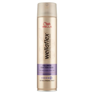 Wella Wellaflex Fullness for Thin Hair Ultra Strong Hold hajlakk 250 ml