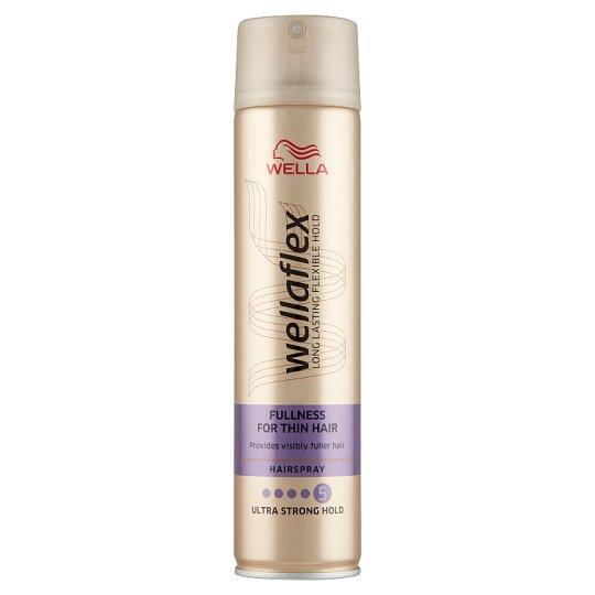 Wella Wellaflex Fullness for Thin Hair Ultra Strong Hold hajlakk 250 ml