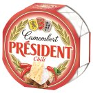 Président Camembert Fat Soft Cheese with Chili 120 g