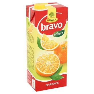 Rauch Bravo Orange Fruit Drink with Sugar and Sweeteners 1,5 l