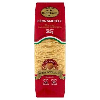 Izsáki Házitészta Juhászné Száraztésztája Vermicelli Dry Pasta with 8 Eggs 250 g
