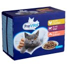 PreVital Complete Pet Food for Adult Cats with Chicken and Veal 12 x 100 g