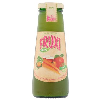 Fruxi Fresh Apple and Carrot Cold Pressed 100% Fruit Juice and Vegetable Juice 250 ml
