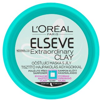 L'Oréal Paris Elseve Extraordinary Clay Cleansing Hair Mask with Clay 150 ml
